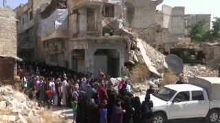Новая партия гуманитарной помощи доставлена в Алеппо российским Центром по примирению сторон.