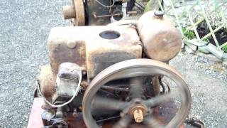 ruston hornsby stationary engine 3 hp pb total original