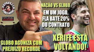 NAÇÃO EM OTO PATAMAR! GLOBO PERDE QUEDA DE BRAÇO COM O MENGÃO! Xerife Rodrigo Caio está voltando!
