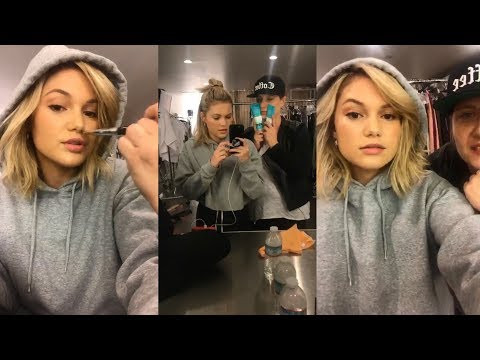 Olivia Holt  Instagram Live Stream  2 December 2017