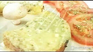Горячие бутерброды с анчоусным маслом