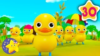 How To Count 6 Little Ducks | Fun Learning with LittleBabyBum | NurseryRhymes for Kids