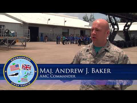 Air Mobility Command on Naval Support Facility Diego Garcia holds open house