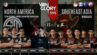 Vainglory Best GamePlays of 5v5 - TSM Vs. Renegades/NA Vs. SEA HIGHLIGHTS: VAINGLORY CHAMPIONSHIP