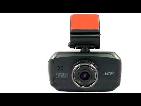 ACV GQ314 видеорегистратор обзор