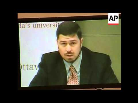"Canadian Maher Arar testifies on ""extraordinary rendition"""