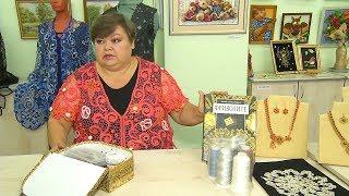 Рукодельница из Копейска плетет ирландское кружево