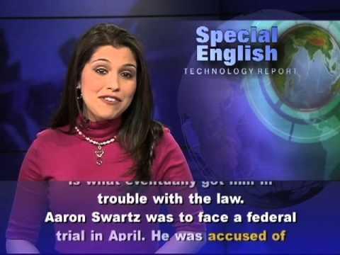 Anh ngữ đặc biệt: Aaron Swartz / Cybercrime (VOA)