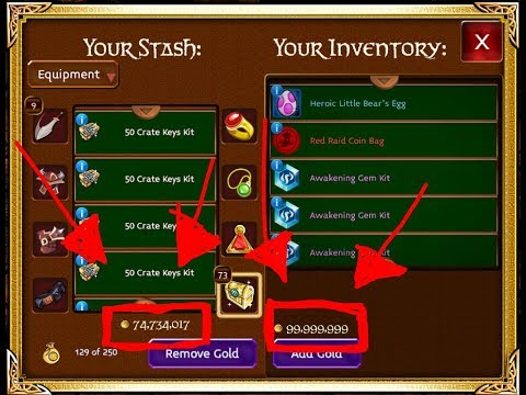 How I Made Over 1,000+ Millions In Arcane Legends | Merching & Farming