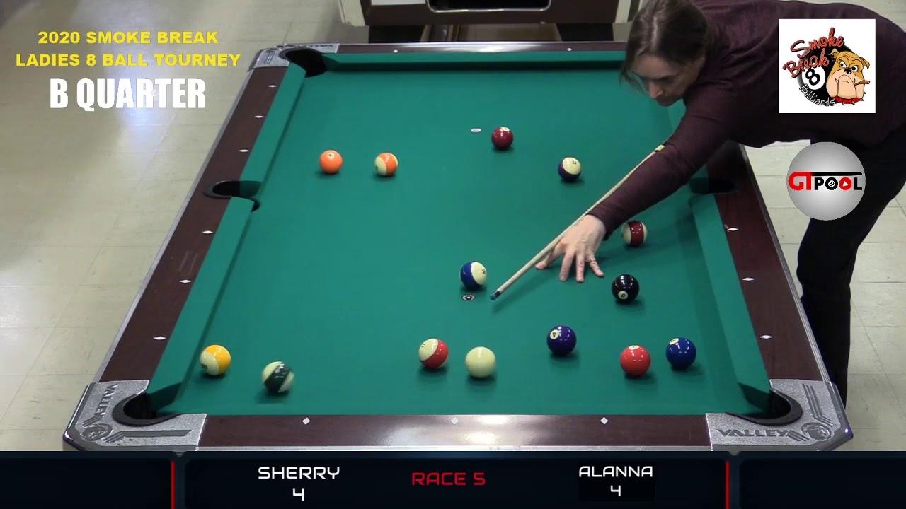 2020 Smoke Break Billiard Ladies 8 Ball Tournament --- ELITE 8 Part 5
