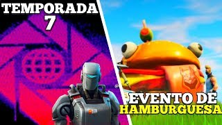 *FILTRADO*A.I.M. CREARA EL EVENTO DE LA TEMPORADA 7(EVENTO HAMBURGUESA) EN Fortnite Battle Royale