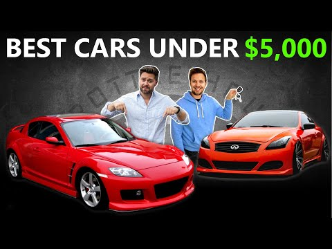 9 Best Cars You Can Buy For Under $5,000