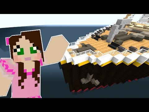 Minecraft: TITANIC MOVIE - THE SHIP IS SINKING!! - Custom Roleplay [4]