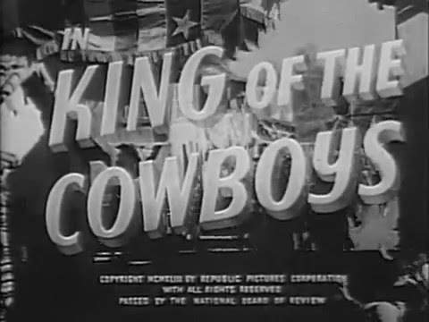 1943 KING OF THE COWBOYS  Roy Rogers, Smiley Burnette  Uncut version