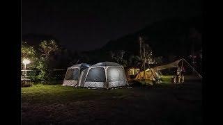 【新手摩托車露營】:第一露之兩人一狗 行李怎麼載喔救命~ Vlog 