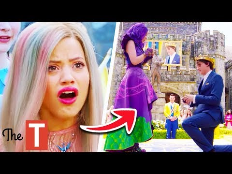 5 Signs Audrey Is The Real Threat In Descendants 3 - YouTube