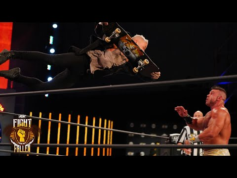 WAS BRIAN CAGE ABLE TO DETHRONE JON MOXLEY? | AEW FIGHT FOR THE FALLEN, 7/15/20
