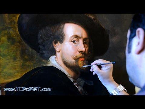 Rubens - Self Portrait | Art Reproduction Oil Painting