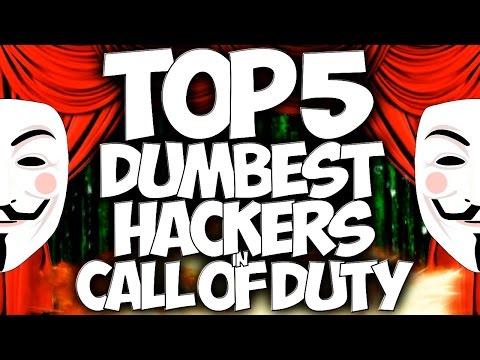 "Top 5 ""DUMBEST HACKERS"" In Cod History (Top Five - Top 5) ""Call of Duty"""