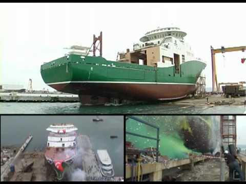 Cemre Shipyard NB101 Havila Subsea Launching - Havyard
