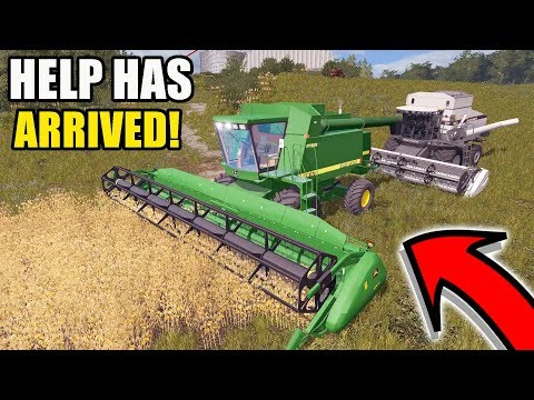 UNEXPECTED PURCHASE.... WE BOUGHT A JD 9610 TO HELP OUT! | EP #12 | FARMING SIMULATOR 2017
