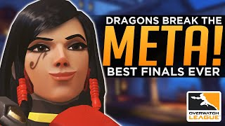 Overwatch: Dragons Break the META! - The Greatest Playoff Run EVER!
