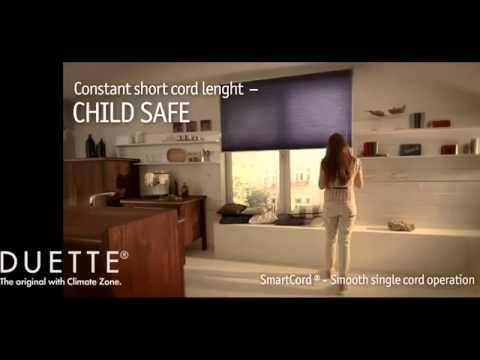 Duette® Blinds with SmartCord® Operation