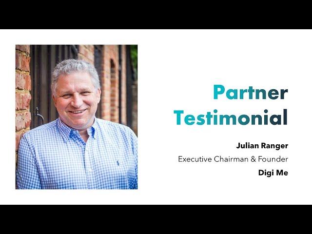 Partner Testimonial - Digi.me - Julian Ranger