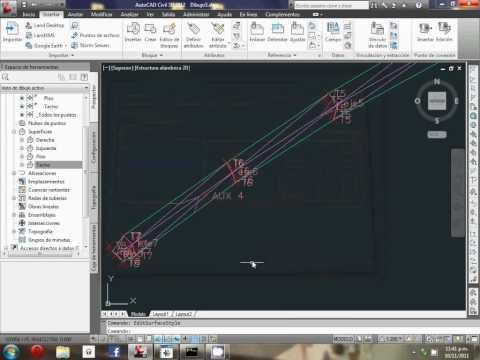 Como hacer secciones transversales en autocad civil 3d