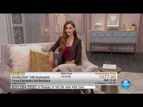 HSN | Sevilla Gold Jewelry 09.16.2016 - 12 PM