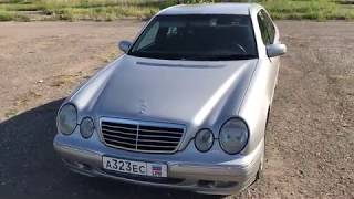 Обзор Mercedes Benz w 210 cdi 270 1999.Review.