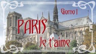 PARIS Je t'aime -1- Ile de la Citè, Marais, Beaubourg