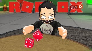 Roll the dice to decide the game... | Random Roblox Games Live Stream