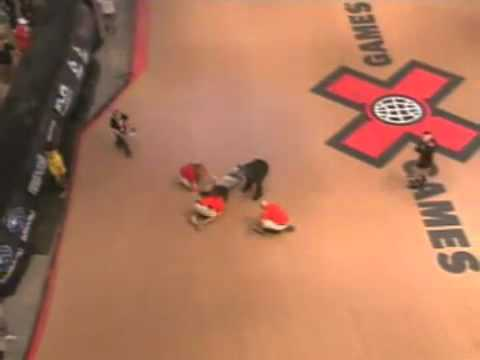 Jake Brown - X Games Terrible Accident