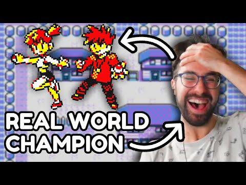 Pokemon but the World Champion controls the AI