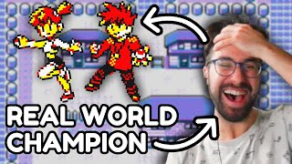Pokemon but the World Champion controls the AI