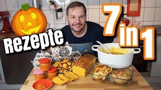 Top 7 Kürbisrezepte | Herbst & Halloween | Florian Mennen