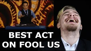 Magician REACTS to Ryan Hayashi on FOOL US