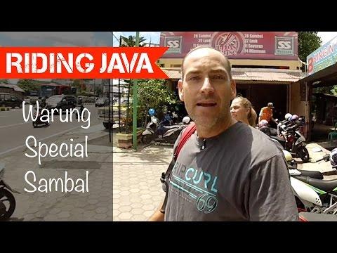 Eating at Warung Special Sambal 'SS' in Yogyakarta   Indonesian Food