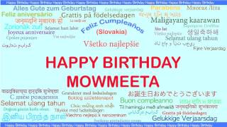 Mowmeeta   Languages Idiomas - Happy Birthday