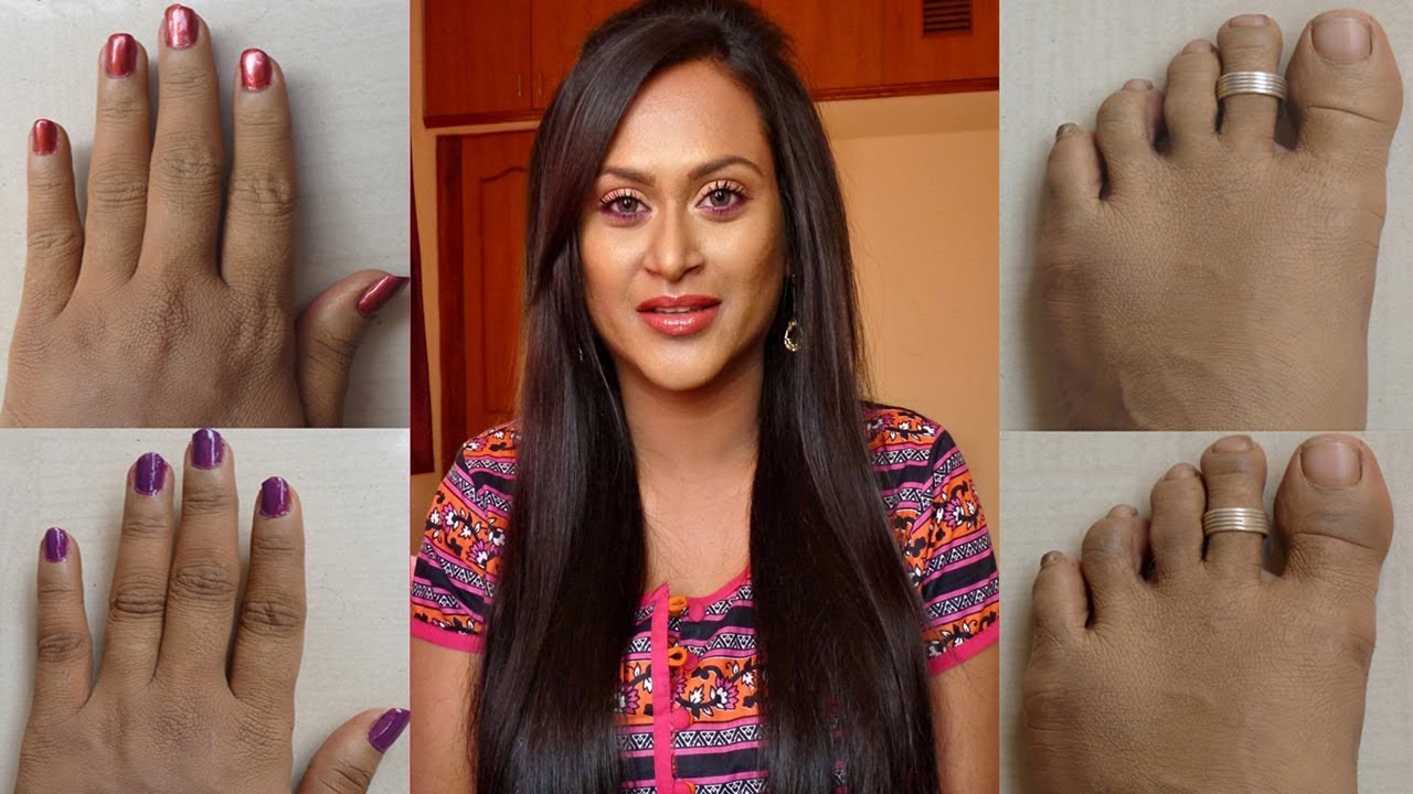 How To Lighten Knuckles And Toes Naturally Youtube