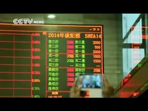 Shanghai launches China's second carbon emissions trading market