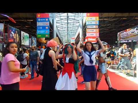 VLOG Japan Expo 2017 !! (rencontre, cosplay, danse...) ♥