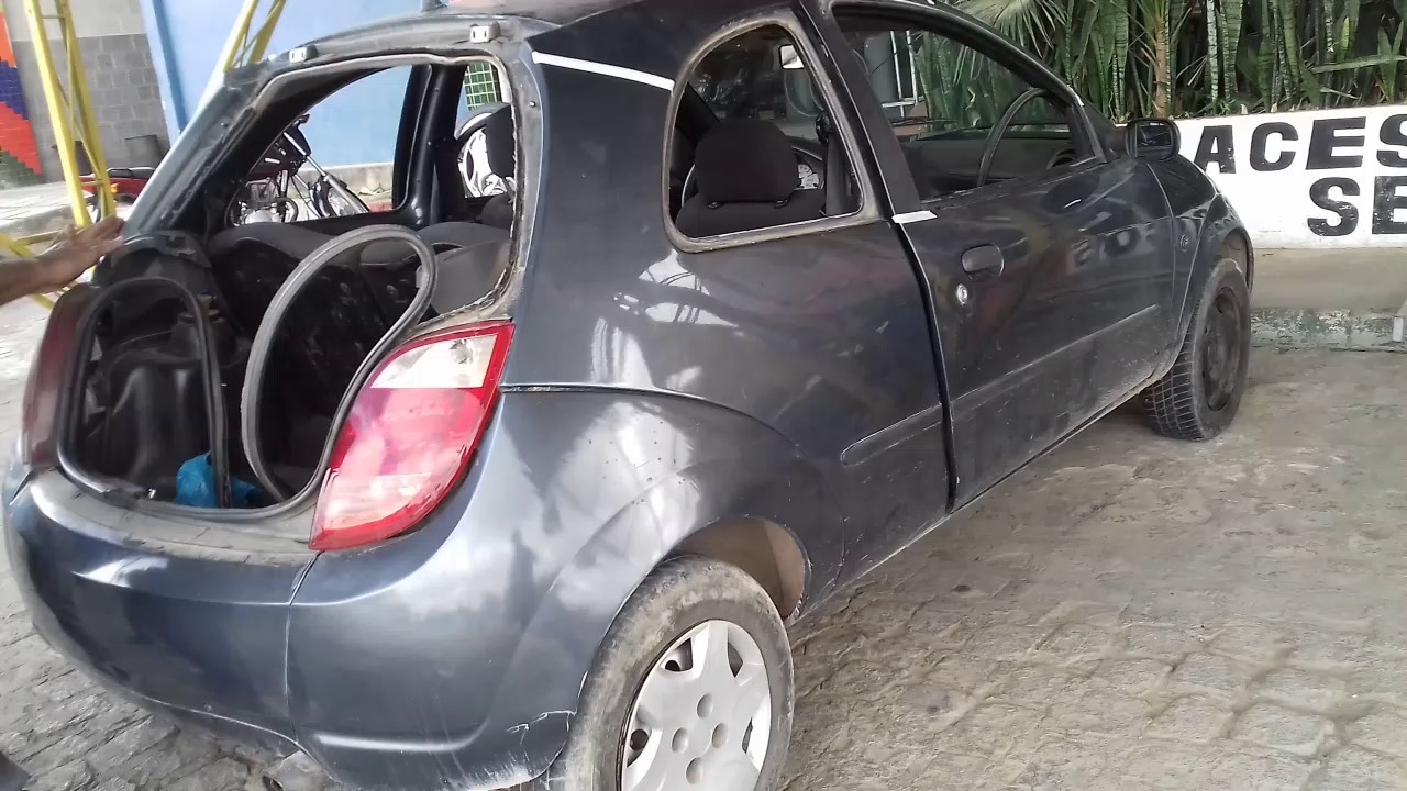 Customizando Um Ford Ka Parte 01 Youtube