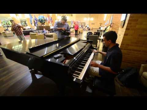 Pianist Jimmy Granger