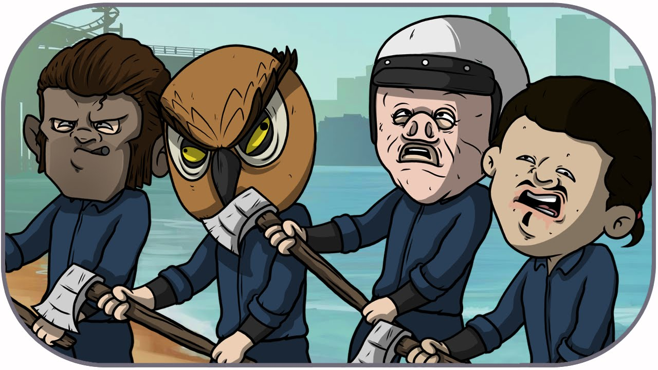 Gta 5 Cartoon Characters : I am wildcat gta character imgkid the image