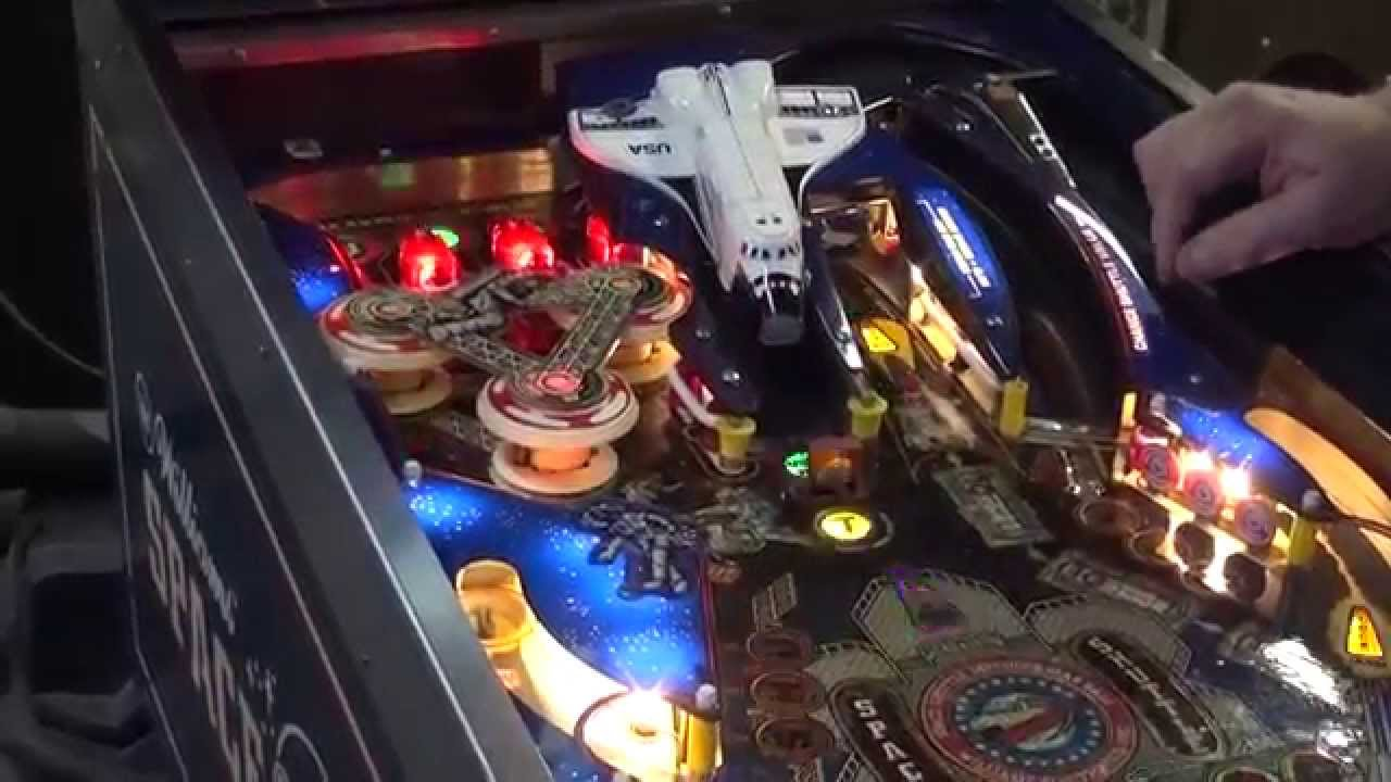 space shuttle pinball machine