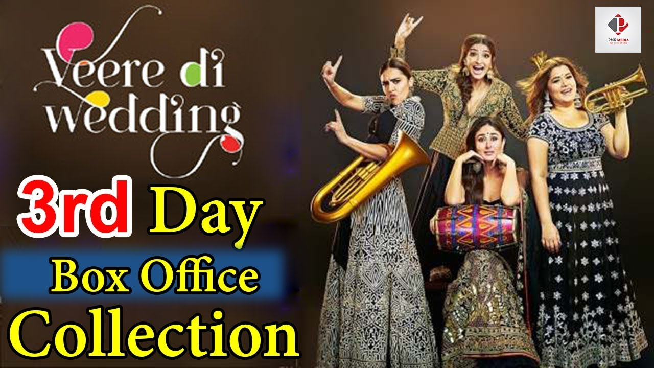 Veere Di Wedding Box Office.Veere Di Wedding 3 Days Box Office Collection Worldwide And Weekend Collection Sonam Kapoor