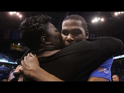 Kevin Durant Drops 41 Against Spurs, Has Best Game Ever On Mother's Day