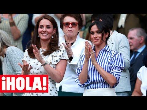 Así vivió la Duquesa de Sus la derrota de Serena Williams en Wimbledon